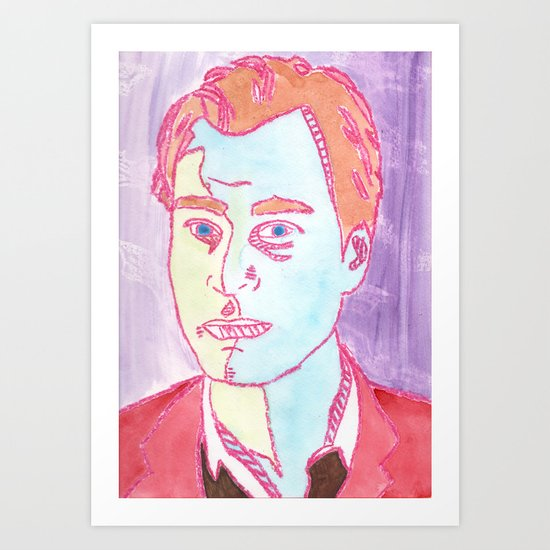 Christopher Nolan Art Print