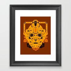 Sugar Cybermen Framed Art Print