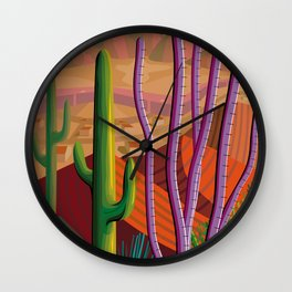 Tucson Wall Clock