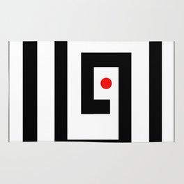 Focus on red point - Vector Rug