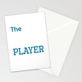 Ultimate Netball Player Athlete Workout T-Shirt Stationery Cards