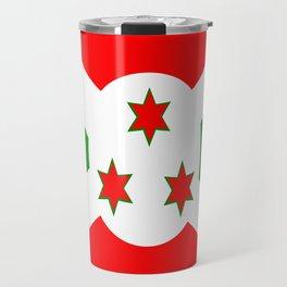 Flag of Burundi Travel Mug