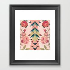 Love Birds (pink edition) Framed Art Print