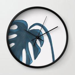 Moderna Monstera V.1 Wall Clock