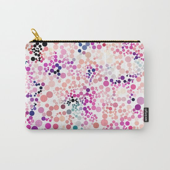 Bubble Pattern Carry-All Pouch