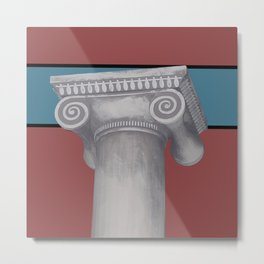 The Original Pillar Metal Print