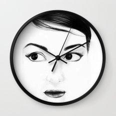 pretty face Wall Clock