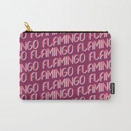 FLAMINGO FLAMINGO FLAMINGO Carry-All Pouch