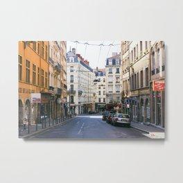 Lyon Streetscape Metal Print