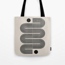 Geometric Mid Century Art Tote Bag