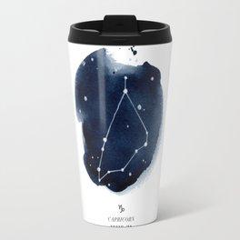 Zodiac Star Constellation - Capricorn Travel Mug