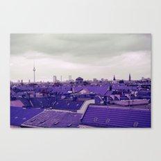 Berlin-Roofgarden's View Canvas Print
