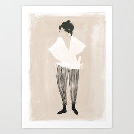 Werner Pantalones Art Print