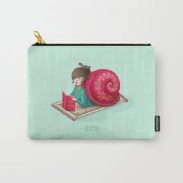 Cozy snail Carry-All Pouch