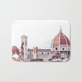 Brunelleschi's masterpiece Bath Mat