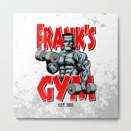 Frank's Gym Metal Print
