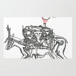 Moto Deer Rug