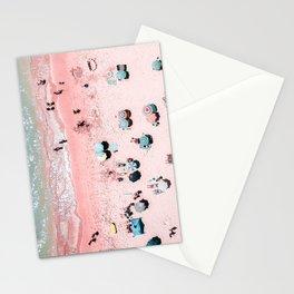Ocean Print, Beach Print, Wall Decor, Aerial Beach Print, Beach Photography, Bondi Beach Print Stationery Cards
