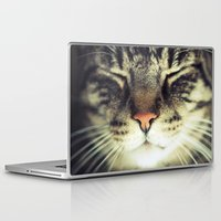 meow Laptop & iPad Skins featuring Meow by BURNEDINTOMYHE∆RT♥