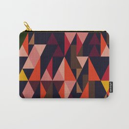 Vintage vibes_in warm hues Carry-All Pouch