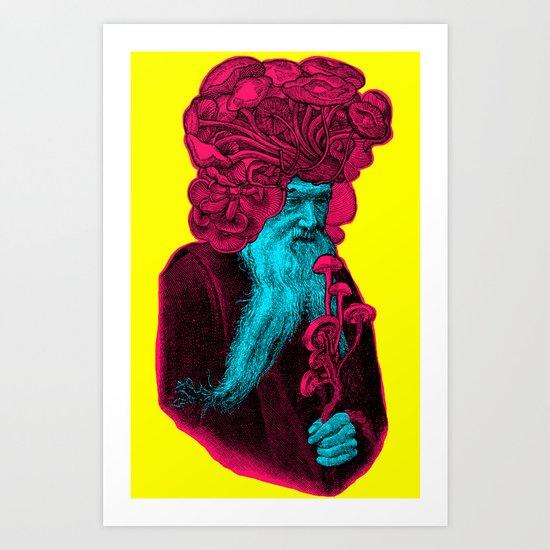 PSILOCIBINA Art Print