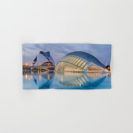 CALATRAVA | architect ARCHITECTURE | City of Arts and Sciences III Hand & Bath Towel