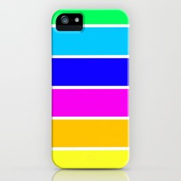 Bright Stripes iPhone Case