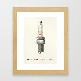 Spark plug Bosna - Enker Framed Art Print