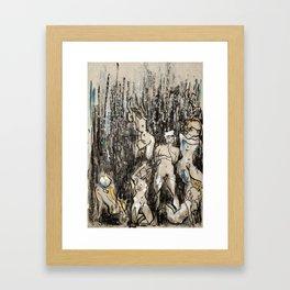 Where/and/Who Framed Art Print