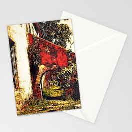 Under the stairwell - Florest Navarro de Andrade Stationery Cards