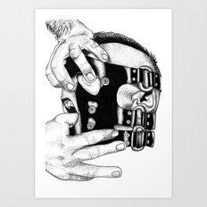 hot man vicious Art Print