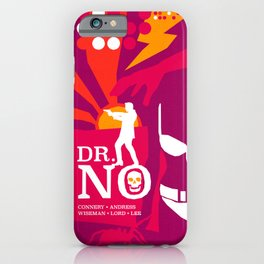 James Bond Golden Era Series :: Dr. No iPhone Case