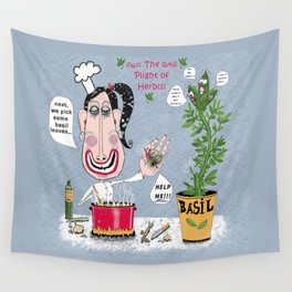 The Plight of Herb(s) Wall Tapestry