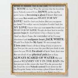 Jack White Serving Tray