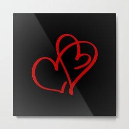 Hearts Against Hate 282 Metal Print