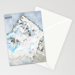 Mount Everest, Nepal Asia Stationery Cards