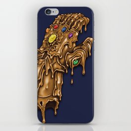 Melted Infinity Gauntlet iPhone Skin