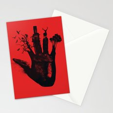 1 4d money 4 for life Stationery Cards