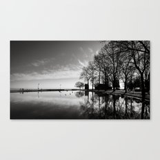 Balaton - reflection Canvas Print