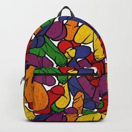 Schlong Song in Rainbow, All the Penis! Backpack