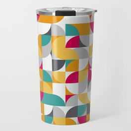vector Design Deco. Travel Mug