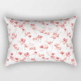 Poppy Dance Rectangular Pillow