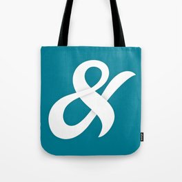 Tangled - Ampersand typography Tote Bag