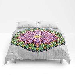 Mandala 5 Comforters