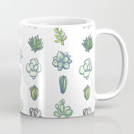 One Dozen Succulents Coffee Mug