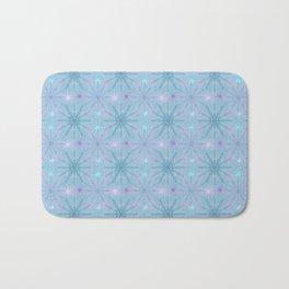 Mandala Snowflakes II Bath Mat