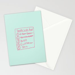 Fan art, Beatrix Kiddo from Kill Bill Stationery Cards
