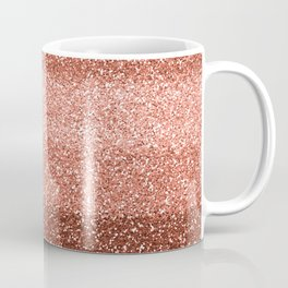Rose Gold Sparkle Coffee Mug