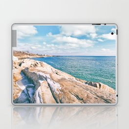 Narragansett Rocks Laptop & iPad Skin