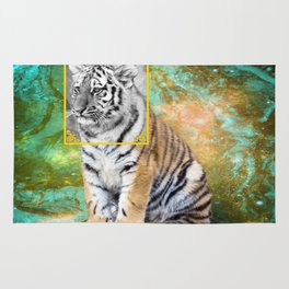 tigers time Rug